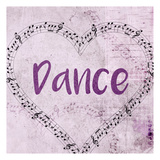 Music Dance Posters by Kimberly Allen