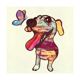 Barks and Butterfly Prints by Evangeline Taylor