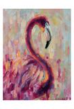 Flamingo Bliss 1 Prints by Lena Navarro