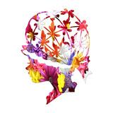 Floral Fashion 2 Print by Sheldon Lewis