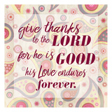 Give Thanks Paisley Prints by Kimberly Allen