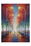 A Walk In The Park Prints by Michael Romero