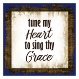 Tune My Heart Prints by Kimberly Allen