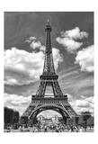 Eiffel 5 Prints by Sandro De Carvalho