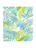 Watercolour Tropical Pattern 3 Prints by Mary Escobedo