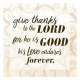 Give Thanks Prints by Kimberly Allen