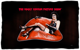 Rocky Horror Picture Show - Frank Lips Fleece Blanket Fleece Blanket