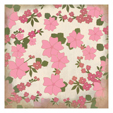 Pink Blooms Poster by Kimberly Allen