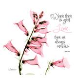 Great Love foxglove Plakaty autor Albert Koetsier