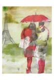 Paris Rain Prints by Taylor Greene