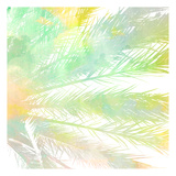 Watercolor Palm 1 Print by Kimberly Allen