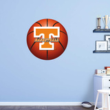 NCAA Tennessee Volunteers 2015 RealBig Basketball Logo Wall Decal