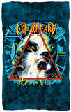 Def Leppard - Hysteria Cover Fleece Blanket Fleece Blanket