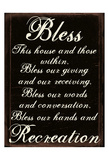 Bless A Prints by Sheldon Lewis