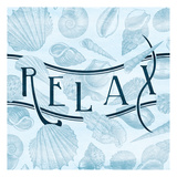 Relax Shells Art by Jace Grey