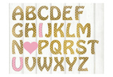 ABC Girl Prints by Kimberly Allen
