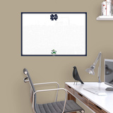 NCAA Notre Dame Fighting Irish 2015 Dry Erase White Board Fathead Jr. - Duvar Çıkartması