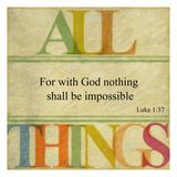 All Things Plakat autor Taylor Greene