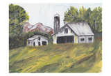Country Road II Prints by Beverly Dyer