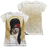 Juniors: Pets Rock- Tattoo Angel (Front/Back) T-shirts