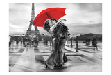 French Kissing Prints by May May