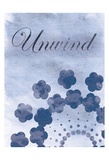 Unwind Blue Spa 2 Prints by Lauren Gibbons
