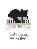 Beauty Sleep Posters by Bella Dos Santos