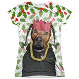 Juniors: Pets Rock- Rapping Paper T-Shirt