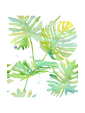 Watercolour Tropical Pattern 1 Prints by Mary Escobedo