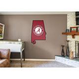 NCAA Alabama Crimson Tide 2016 State of Alabama RealBig Logo Wall Decal