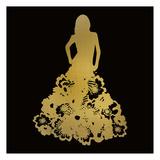 Fashion Silhouhette 1 Prints by Kimberly Allen