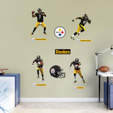 NFL Pittsburgh Steelers 2016 Power Pack RealBig Veggoverføringsbilde