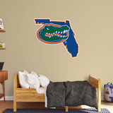 NCAA Florida Gators 2016 State of Florida RealBig Logo Wall Decal