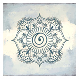 Henna Square 1 Prints by Kimberly Allen