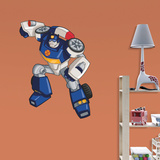 Transformers Rescue Bots Chase Fathead Jr. Wall Decal