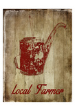 Local Farmer Posters by Sheldon Lewis