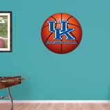 NCAA Kentucky Wildcats 2015 RealBig Basketball Logo Wall Decal