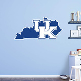 NCAA Kentucky Wildcats 2016 State of Kentucky RealBig Logo Wall Decal