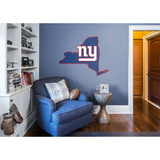 NFL New York Giants 2016 State of New York RealBig Logo Wall Decal