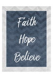 Faith Prints by Kimberly Allen