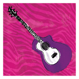 Girls Rock Guitar Prints by Enrique Rodriquez Jr