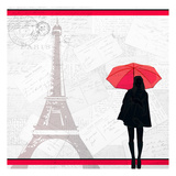 A Night in Paris Prints by Kimberly Allen