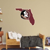 NCAA Florida State Seminoles 2016 State of Florida RealBig Logo Wall Decal