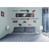 Dodge Logos RealBig Collection Wall Decal