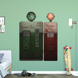 Call of Duty Zombie Perks-a-Cola Pop Machine RealBig Wall Decal