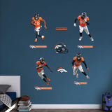 NFL Denver Broncos 2016 Power Pack RealBig Wall Decal