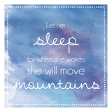 Sleeping Mountains Posters by Lauren Gibbons