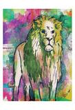 Lion Dark Bright Henna Posters by OnRei OnRei
