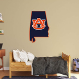 NCAA Auburn Tigers 2016 State of Alabama RealBig Logo Wall Decal