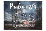My Light And My Salvation Prints by Sheldon Lewis